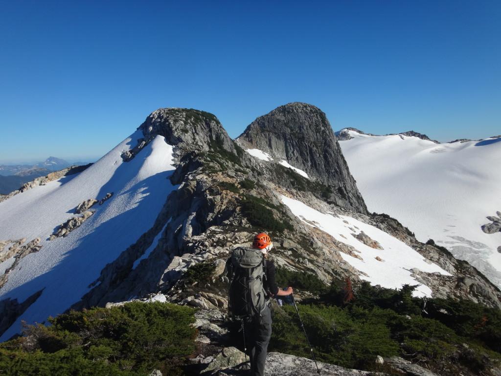 The ridge just shy of Meslillooet