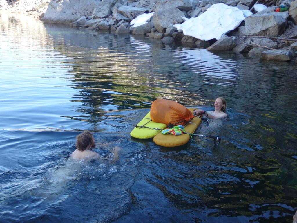 """Plan """"Naked Bag Raft Ferry"""""""