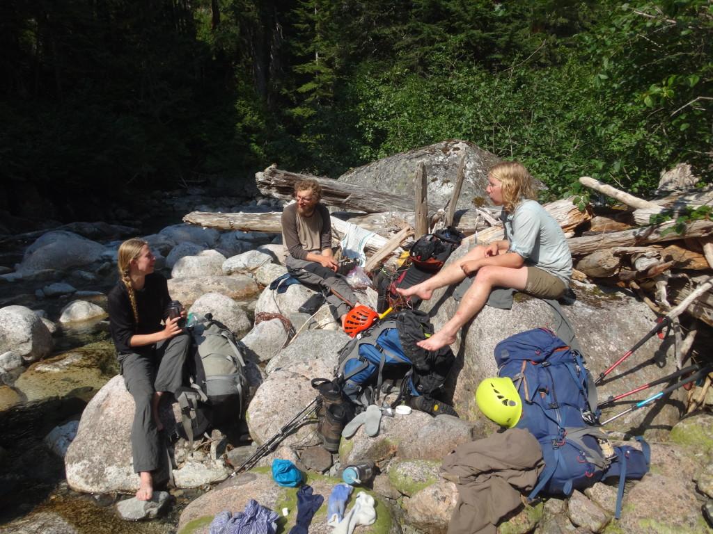 Lunch in Bull Creek