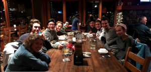 Dinner (voc trip report)