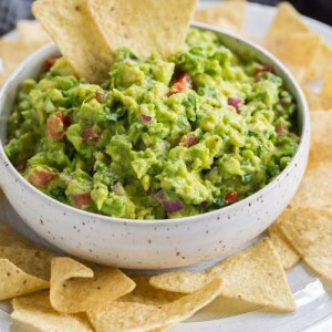 Here's a stock photo of guacamole cause Team Feenie's food was so good the cameras exploded