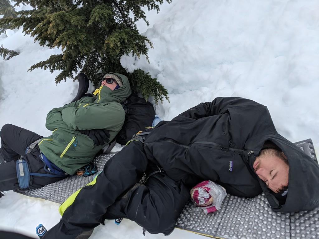 Nick and Freek, sleepy