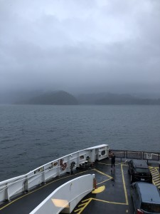On the way to Bowen Island