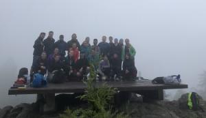Group photo on Mt. Gardner South summit