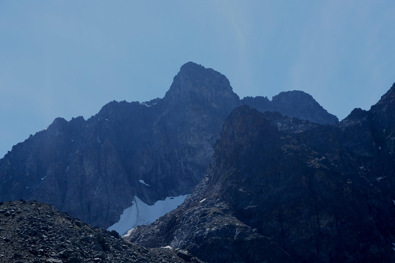 Steep terrain in the north faces. PC Elliott Skierszkan
