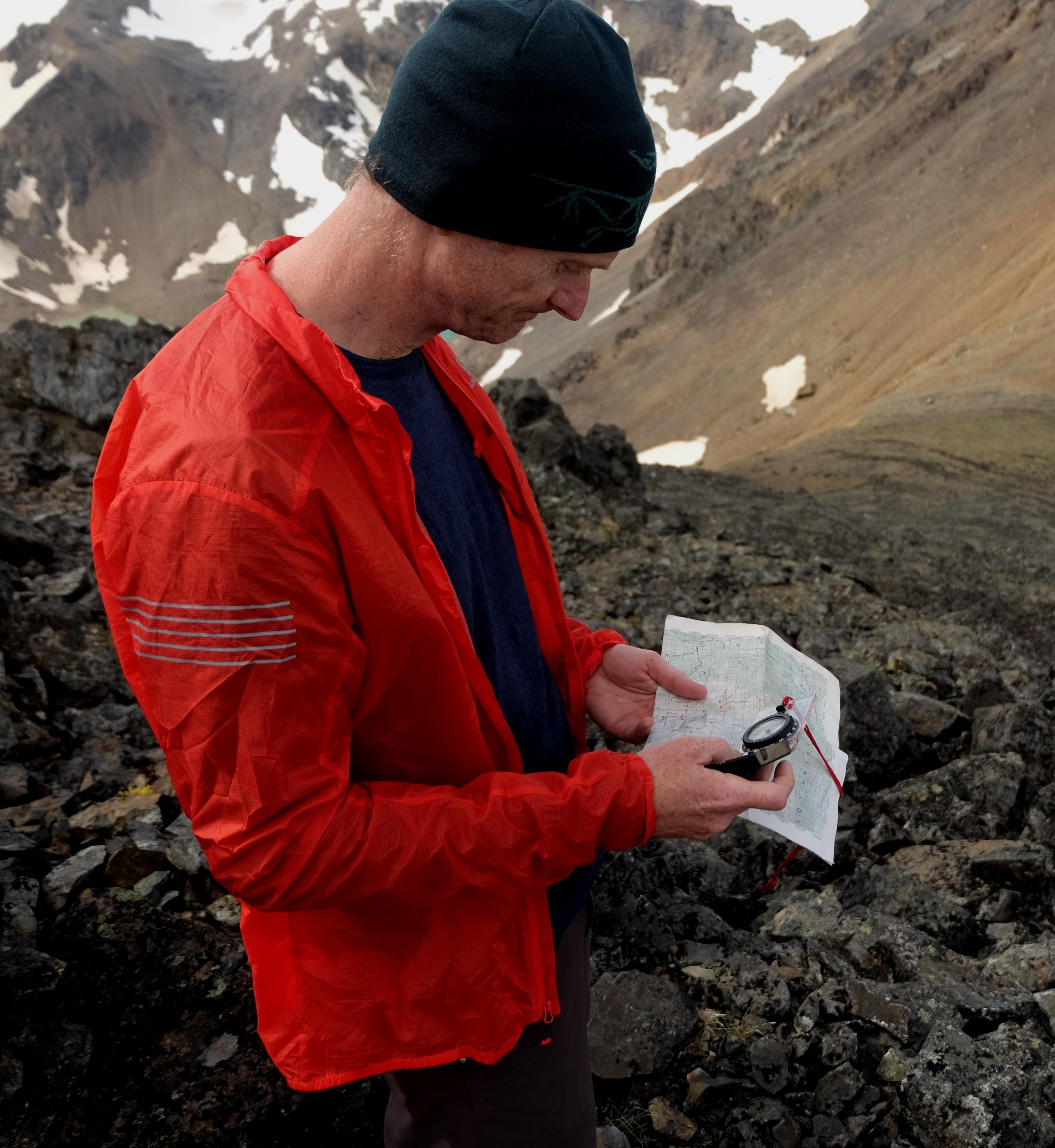 Uncovering magnetic anomalies. PC Elliott Skierszkan.