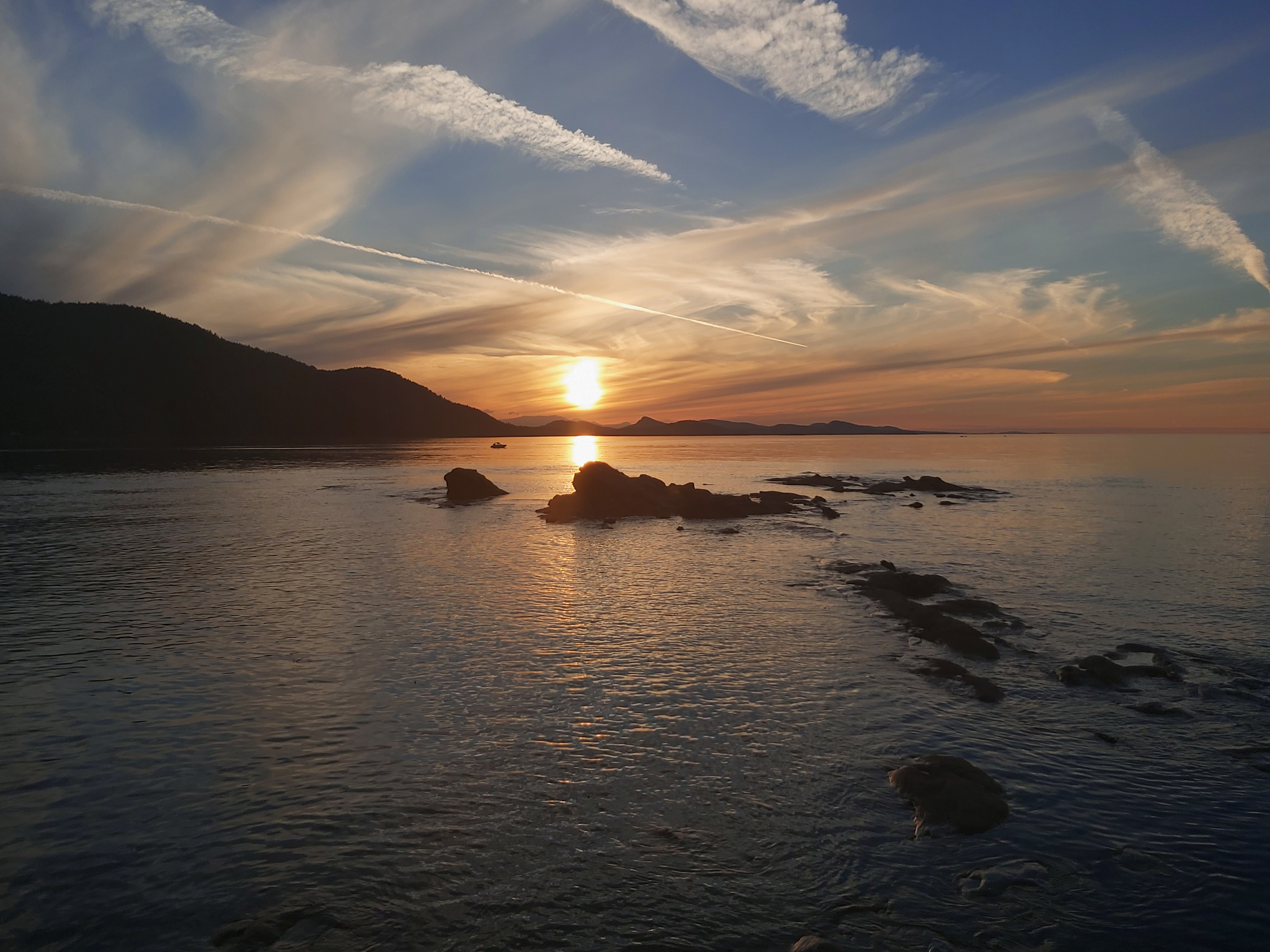 Sunset from Tumbo Island - Quinn Ramsay