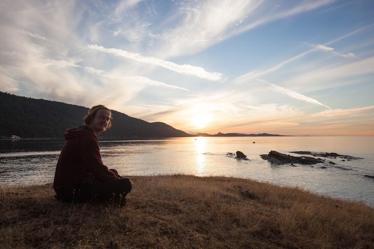 Alex Wharton on Tumbo Island - Ayemin