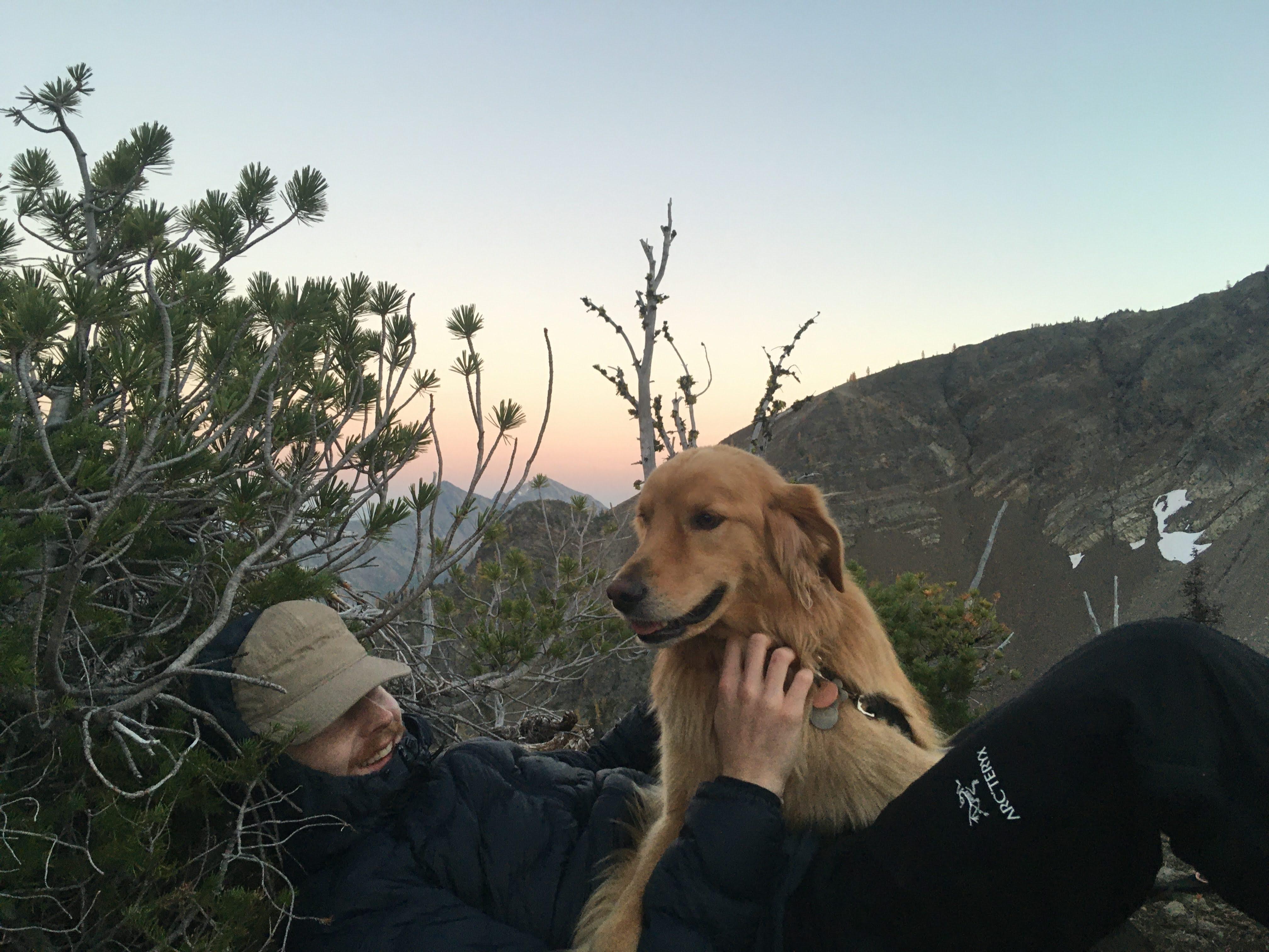 Ethan Heimler with Buddy. Photo by Melissa Bernstein.