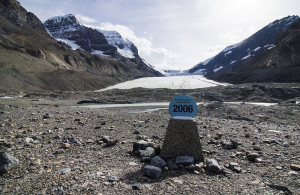 A sobering reminder of how much of the Icefields has already been lost.