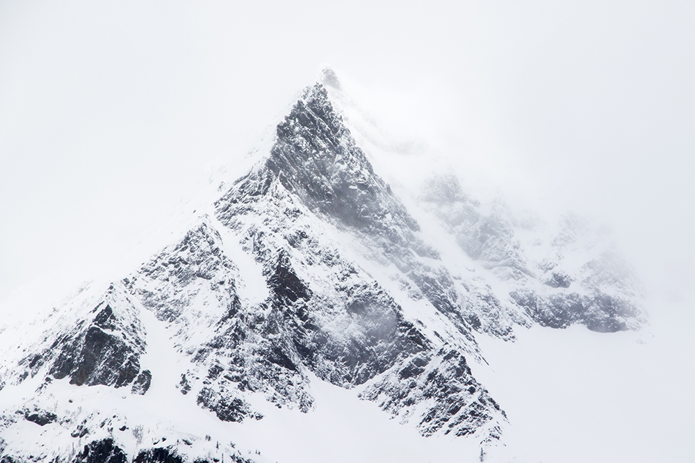 Not sure what it's named, but I like how peak-y this particular peak looks.