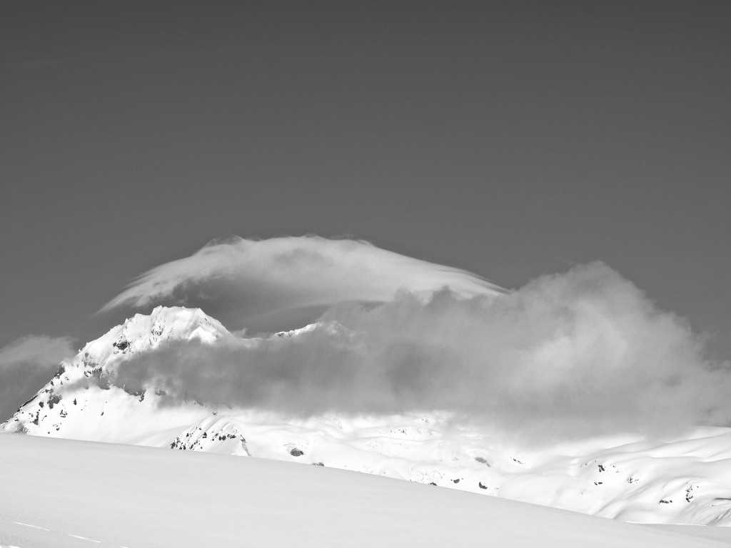 Cool cloud over Garibaldi and Atwell.