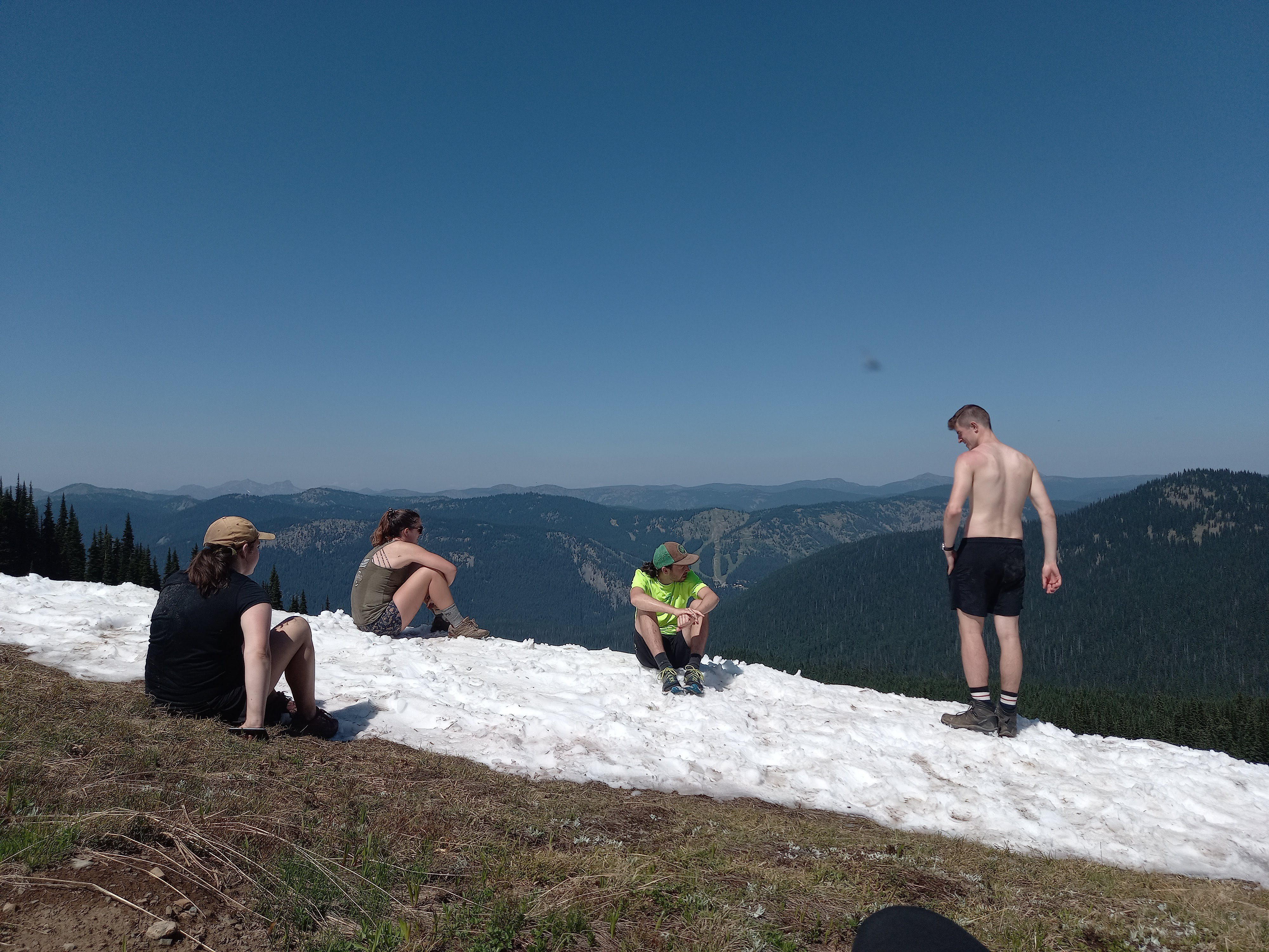 The Snow Camp Mountain ass-cooling station