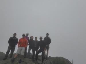 left to right: Isaac, Josh, Beth, Min, Joe, Lucy, Sam. PC Sam Grubinger