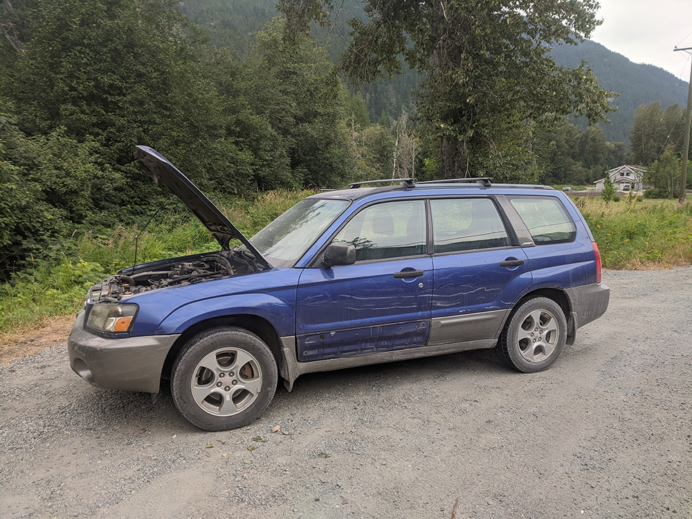 Subarus are pretty tough