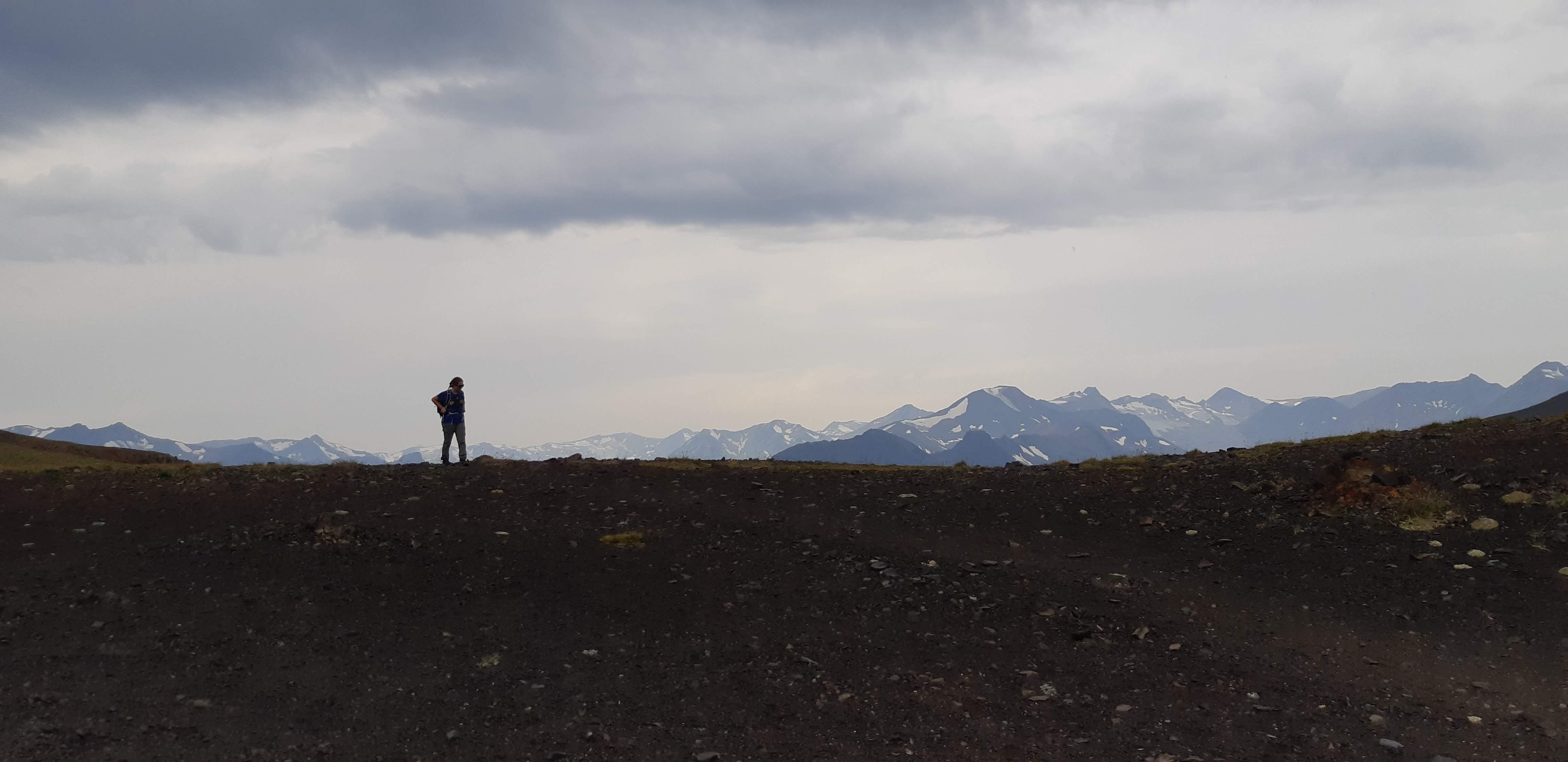 Melissa at Deer Pass. Photo by Shuyu