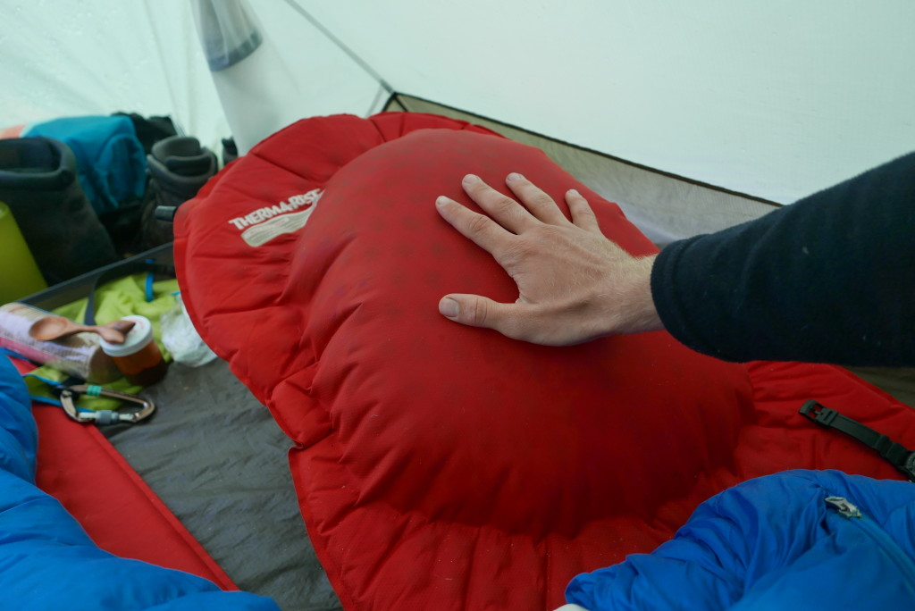 My mat started delaminating on the second night. By the end of the trip, one third of it was just a massive beachball, and I mostly slept on it deflated.