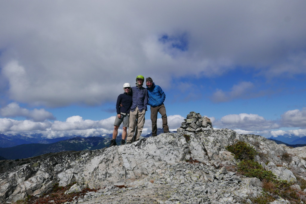 Our summit cairn!