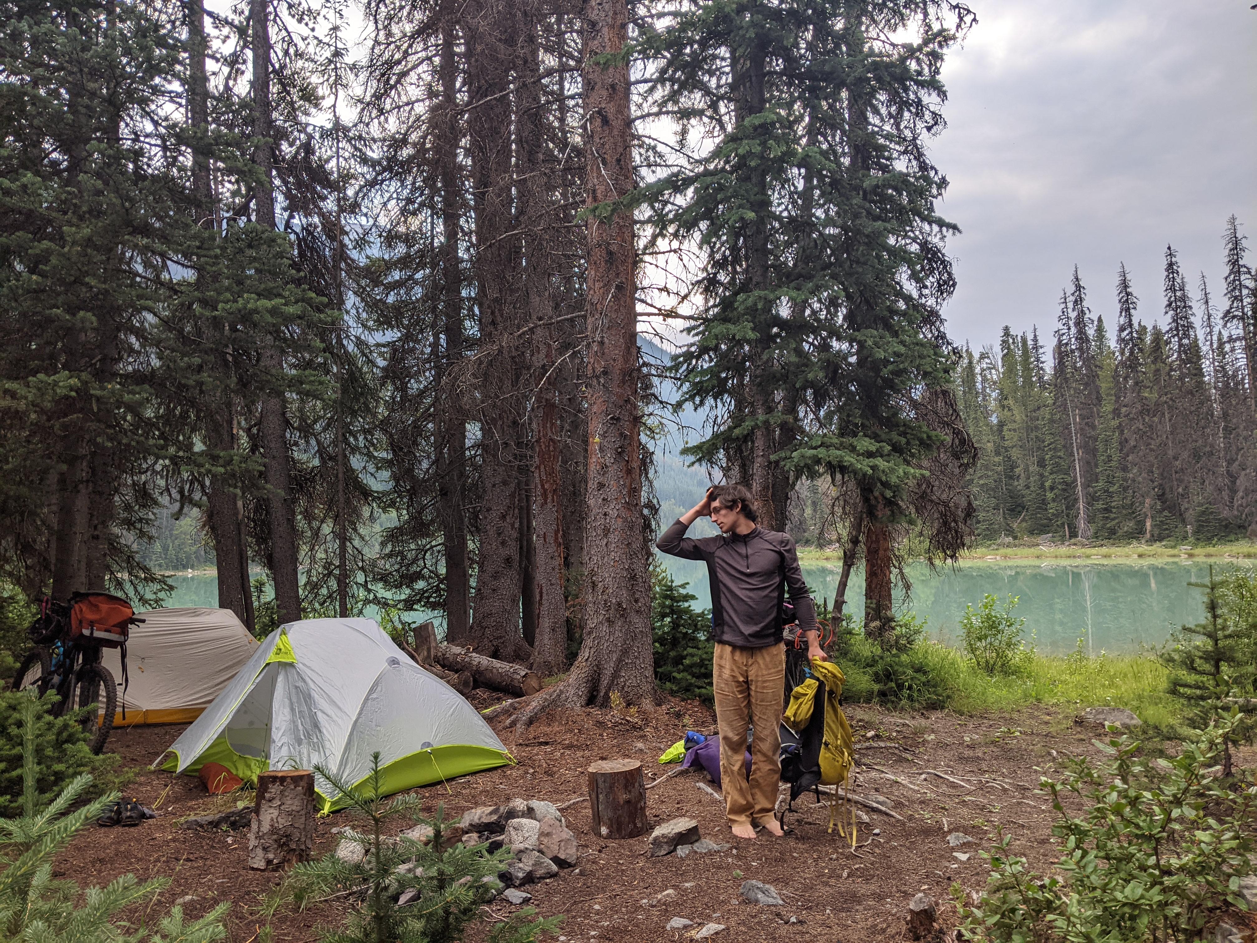 Jacob at camp.